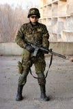 Młody wojskowy Zdjęcie Stock