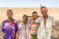 Młodzi bouys w Sudan Zdjęcie Royalty Free