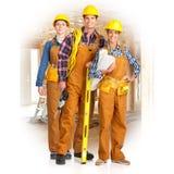 młodzi budowniczych ludzie Obraz Stock