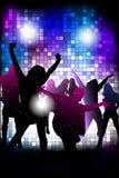 młodzi dancingowi ludzie Zdjęcie Royalty Free