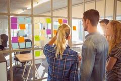 Młodzi kreatywnie ludzie biznesu Fotografia Stock