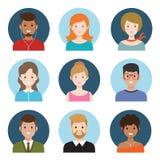Młodzi ludzie avatar Zdjęcia Royalty Free