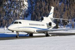 M-ORAD | Dassault falk 7X | Privat | James Mepsted royaltyfria bilder