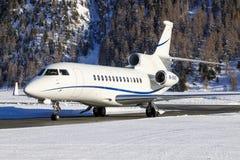 M-ORAD | Falcão 7X de Dassault | Privado | James Mepsted imagens de stock royalty free