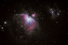 M42 Orion Nebula royalty-vrije stock fotografie
