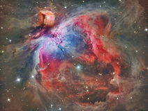 M42 Orion Nebula APOD. Astrology astronomy cluster comet constellation cosmos galaxy light moon royalty free stock photo