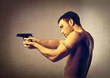mördare Fotografering för Bildbyråer