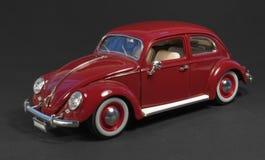 mörk model red för tillbaka bil Royaltyfri Foto
