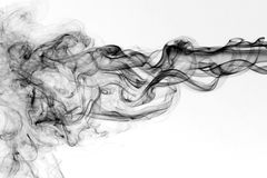 mörk rök Arkivfoton