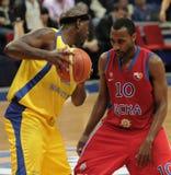 M.Palacio contra J.Holden una vez más Foto de archivo