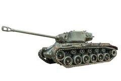 M - 26 Pershing Tank. A M - 26 Pershing Tank on a white background Stock Photos