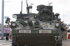 M1126 piechoty przewoźnika pojazd Obrazy Stock