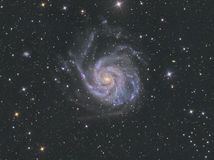 M101 Pinwheel Galaxy Royalty Free Stock Photo