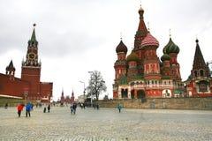 M plac czerwony często rozważa główny plac miasto Obraz Royalty Free