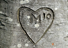 M in power of ten. Royalty Free Stock Images
