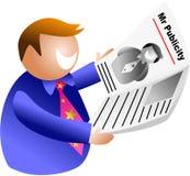 M. publiciteit Royalty-vrije Stock Afbeelding