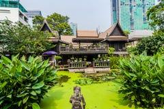 M r Casa da herança de Kukrit's em Banguecoque Fotos de Stock Royalty Free