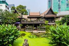 M r Casa da herança de Kukrit's em Banguecoque Imagens de Stock Royalty Free