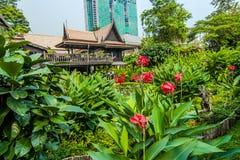 M r Casa da herança de Kukrit's em Banguecoque Imagem de Stock Royalty Free