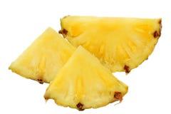mûr d'ananas découpé en tranches Photos stock