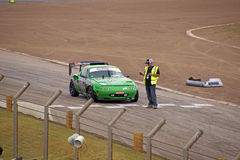 MX5 race car Royalty Free Stock Photo