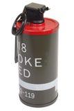 M18 Red Smoke Grenade Stock Image