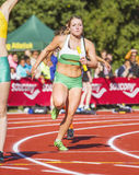 100m relay Royalty Free Stock Photo