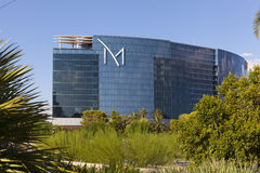 M resort daytime view in Las Vegas, NV on August 20, 2013. LAS VEGAS - AUGUST 20, 2013 - M Resort on August 20, 2013  in Las Vegas. The M hotel includes a 92,000 Royalty Free Stock Photos