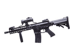M16 rifle isolated Royalty Free Stock Images