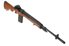 M14 rifle isolated Stock Images