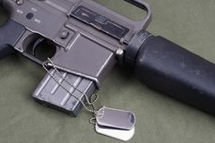 M16 rifle Stock Images