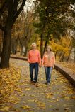 Mûrissez les ménages mariés Photographie stock libre de droits