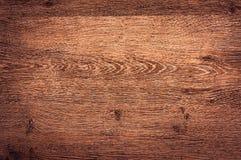 M?rk wood texturbakgrundsyttersida med den gamla naturliga modellen royaltyfri foto