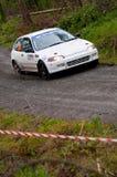 M. Ryan que conduz Honda Civic Fotos de Stock Royalty Free