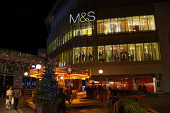 M&S at Christmas Stock Photography