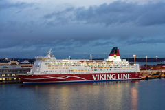 M/S Mariella de Viking Line à Helsinki, Finlande Photo libre de droits