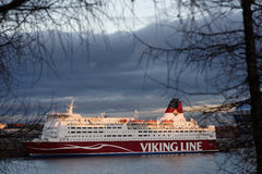 M/S Mariella of Viking Line in Helsinki, Finland Royalty Free Stock Image
