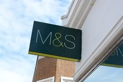M&S sign Stock Photos