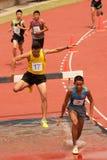 3.000 m.SC in der Thailand Open-athletischen Meisterschaft  Stockfotografie