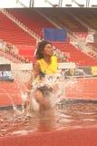 3,000 m.SC in het Open Atletische Kampioenschap van Thailand  Stock Afbeelding