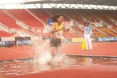 3,000 m.SC in het Open Atletische Kampioenschap van Thailand  Royalty-vrije Stock Afbeeldingen