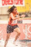 3,000 m.SC in het Open Atletische Kampioenschap van Thailand  Royalty-vrije Stock Afbeelding