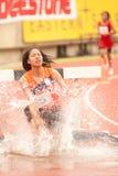 3.000 m.SC in Thailand Open-athletischer Meisterschaft 2013. Stockfotos