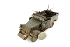 M3 Scout Car with coin Stock Images