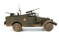 M3 Scout car a right side view Stock Photo