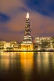 угол 306m неба съемки черепка scrapper london наземного ориентира hdr eu конструкции здания воля нового тонкая самая высокорослая Стоковое Изображение