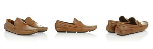 Męscy buty Obrazy Royalty Free