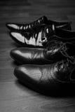 Męscy klasyków buty Zdjęcie Royalty Free