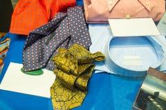 Męscy krawaty i koszula Fotografia Royalty Free