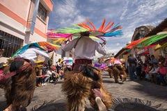 Męscy miejscowi tancerze w kumpel Zdjęcie Stock